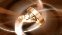 Royalty Free HD Video Clip of Rotating Wedding Rings