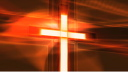 Royalty Free Video of a Shimmering Cross