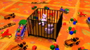 Royalty Free HD Video Clip of a Rotating Crib with Toys and Teddy Bears