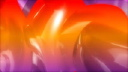 Royalty Free Video of Abstract Red, Orange, and Purple Liquid Ovals