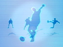 Royalty Free Video of Soccer Players