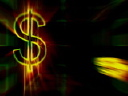 Royalty Free Video of Dollar Signs