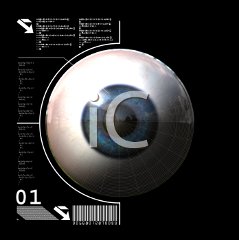Royalty Free 3d Clipart Image of an Eyeball