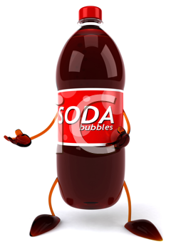 Royalty Free Clipart Image of Soda Pop
