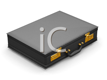 Royalty Free Clipart Image of a Briefcase