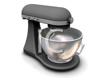 Royalty Free Clipart Image of a Kitchen Mixer