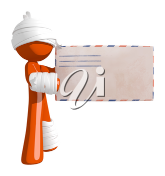 Personal Injury Victim Receiving a Letter