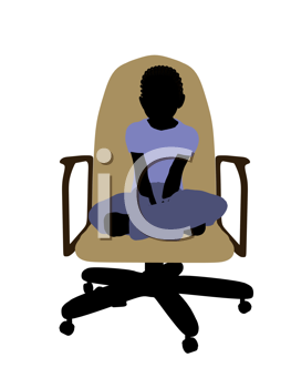 Royalty of a Boy in a Chair