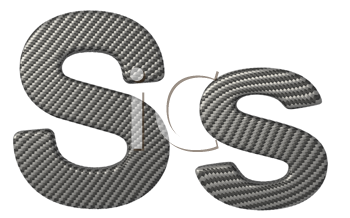 Royalty Free Clipart Image of a Capital and Lowercase S