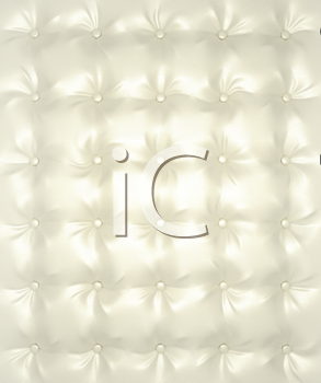 Royalty Free Clipart Image of Luxury White Texture