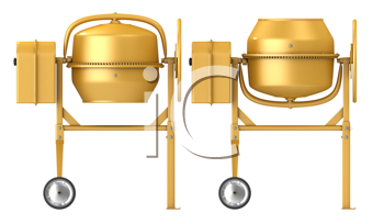 Royalty Free Clipart Image of Mixers