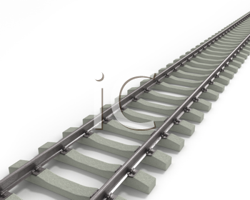 Royalty Free Clipart Image of Rails