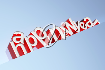 Royalty Free Clipart Image of a Happy New Year Background