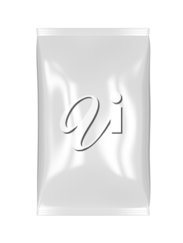 Royalty Free Clipart Image of a Foil Bag