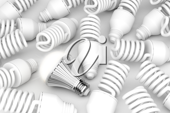 LED light bulb, among other light bulbs