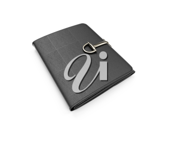 Royalty Free Clipart Image of a Leather Wallet