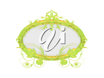 Royalty Free Clipart Image of a Frame