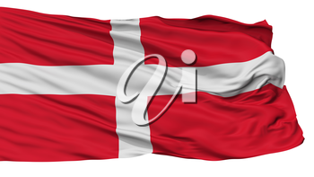 Army Georgia Flag, Isolated On White Background, 3D Rendering