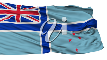 Civil Air Ensign Of New Zealand Flag, Isolated On White Background, 3D Rendering