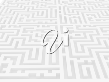 Royalty Free Clipart Image of a Labyrinth