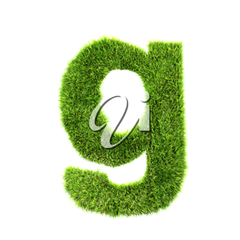 Royalty Free Clipart Image of a letter 'g'