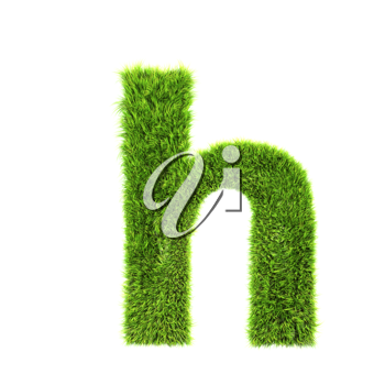 Royalty Free Clipart Image of a Letter 'h'