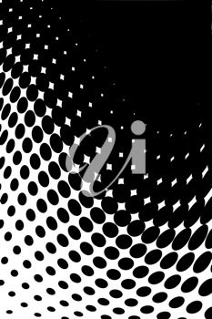 Royalty Free Clipart Image of a Halftone background
