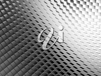 black and white abstract background - modern 3d pattern
