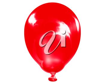 Royalty Free Clipart Image of a Balloon