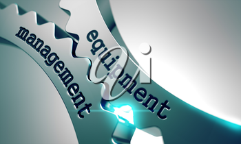 Equipment Management on the Mechanism of Metal Gears.