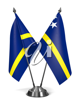 Royalty Free Clipart Image of Netherlands Antilles Miniature Flags