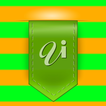 icon arrow pattern of green and yellow