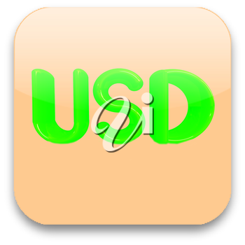 Currency USD symbol icon