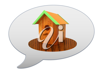 messenger window icon and Nest box birdhouse