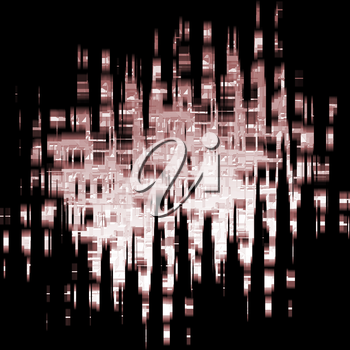 digital darkness background (white and blue)