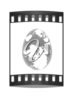 Global Easter on a white background. The film strip