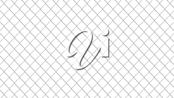 Chain link fence pattern. Realistic geometric texture. Graphic design element for corporate identity, web sites, catalog. Industrial style wallpaper. Steel wire wall isolated on white. 3D illustration