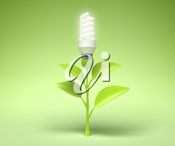 Symbol of the Green technology