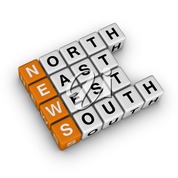 World News  (3D crossword orange series)