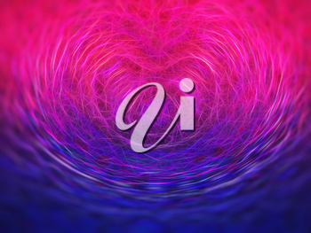 Heart symbol science particles illustration background hd
